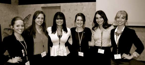 Alyssa Sherman, Hanna Porterfield, Danielle O'brien, Anita Chitwood, Erica Tackett, Nicole Russell