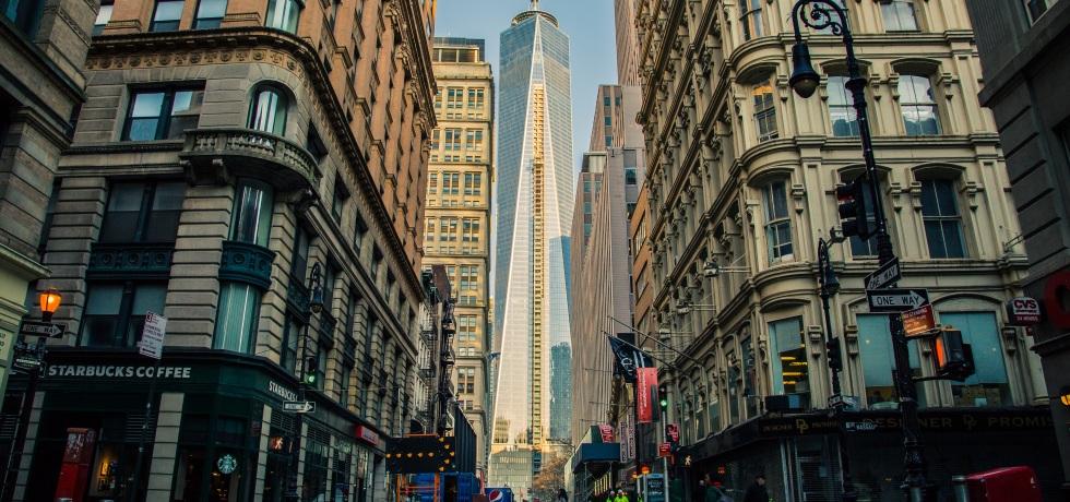 financial district manhattan new york city