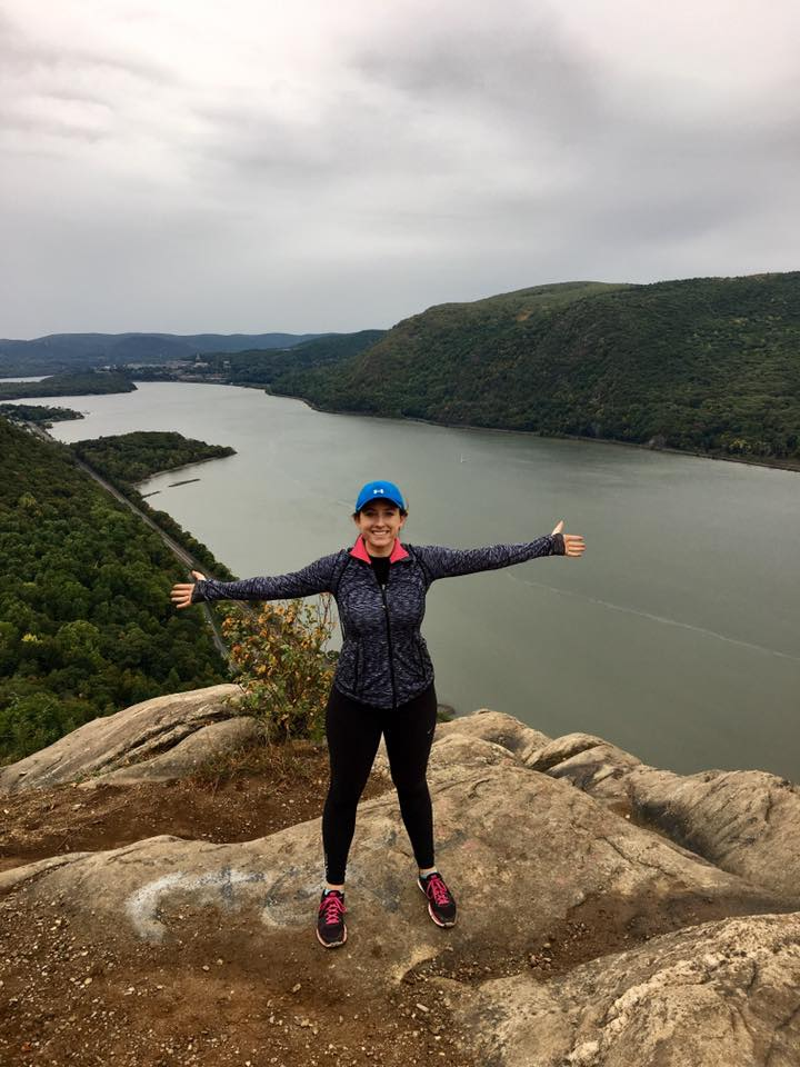 Hiking at Breakneck Mountain.